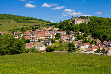 Vilage de la Rochepot, Côte d'or, Bourgogne