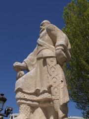 Estatua en Burgos