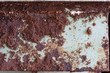 Very rusty metallic surface