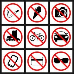 signs ban