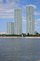 Residentail buildings called GRAND ALATAU in Astana / Kazakhstan