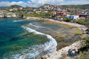 Landscape of the Sardinian coast
