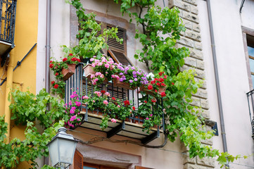 Beautiful italian balcony