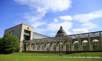Alte Arkaden an der bayerischen Staatskanzlei in München