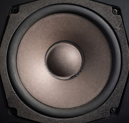 Closeup Audio speaker