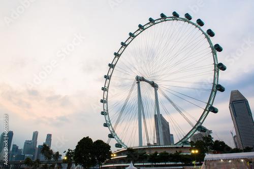 Aluminium Singapore Singapore flyer