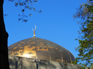 London central mosque in Marylebone