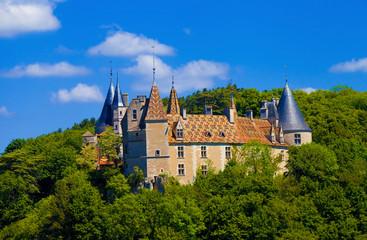 Château de la Rochepot, Côte d'or, Bourgogne