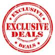 Exclusive Deals-stamp