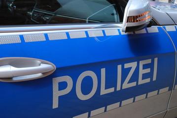 Polizei Polizeiauto Streifenwagen Auto Deutschland