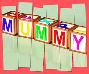 Mummy Word Mean Mum Parenthood And Children