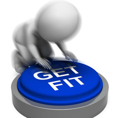 Get Fit Pressed Means Training And Workout