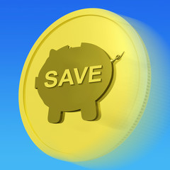 Save Gold Coin Means Price Slashed And On Special