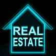 Real Estate Home Shows Selling Property Land Or Buildings