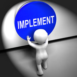 Implement Pressed Means Do Apply Or Execution poster