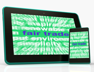 Fair Trade Tablet Mean Fairtrade Products And Merchandise