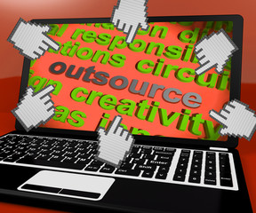 Outsource Laptop Screen Means Contract Out To Freelancer