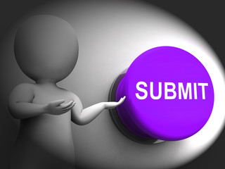 Submit Pressed Means Enter Application Or Document