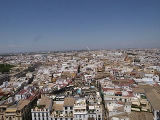 Sevilla vista desde la Giralda de la Catedral
