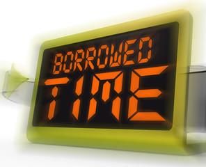 Borrowed Time Digital Clock Shows Terminal Illness And Life Expe