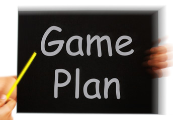 Game Plan Message Means Strategies And Tactics