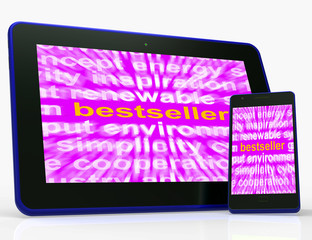 Bestseller Tablet Means Hot Favourite Or Most Popular
