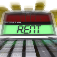 Rent Calculated Means Payments To Landlord Or Property Manager