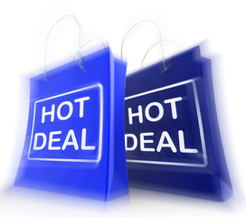 Hot Deal Shopping Bags Show Shopping  Discounts and Bargains