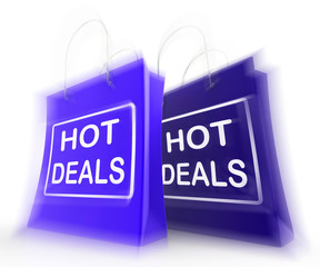 Hot Deals Shopping Bags Show Shopping  Discounts and Bargains