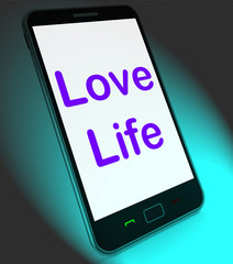 Love Life On Mobile Shows Sex Romance Or Relationship