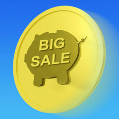 Big Sale Gold Coin Means Huge Money Savings