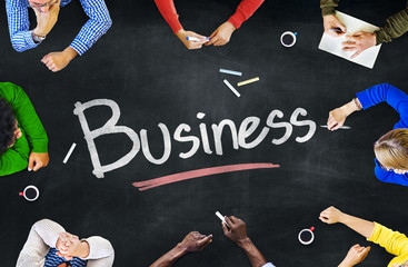 Multi-Ethnic Group of People and Business Concept