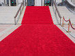 steps with red carpet - 66027118