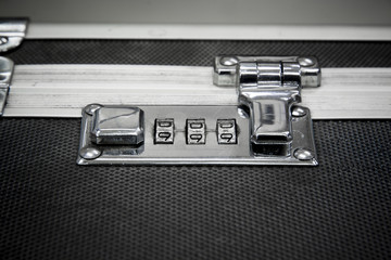 Lock key of Bag for Security concept