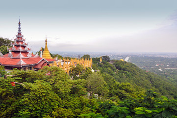 Mandalay Hill in Myanmar