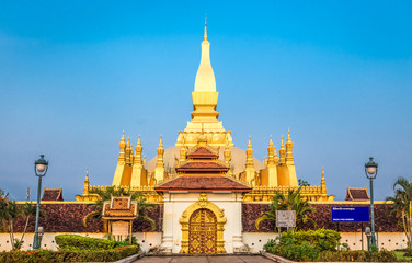 "Pha That Luang – the ""Golden Stupa"" in Laos"