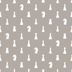 Seamless pattern of chess