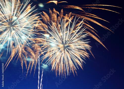 beautiful fireworks show - 66030161