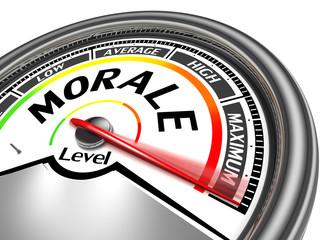 morale conceptual meter