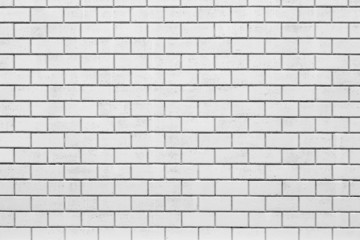 The white brick wall