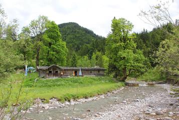 Siebenhüttenalm und Weissach, Kreuth