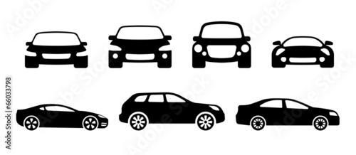 car silhouettes - 66033798