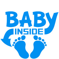 Baby Inside Boy Design