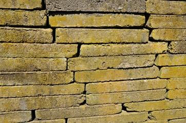 Verwitterte Steinplatten