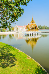 Architecture Bang pa in palace thailand