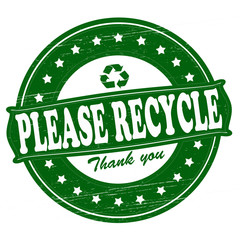 Please recycle