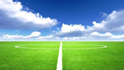 Fototapeta boisko piłkarskie