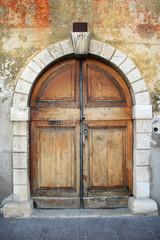 Old italian doorway