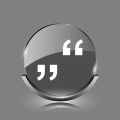 Quotation marks icon