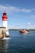 canvas print picture - chalutiers dans le port de pêche du guilvinec,bretagne